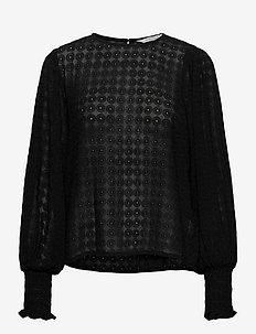 EritaPW BL - blouses à manches longues - black