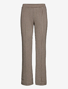 PontasPW PA - pantalons droits - mini check, brown