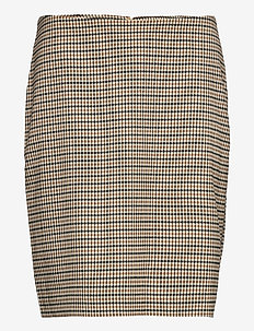 StinesPW SK - jupes crayon - suiting check, neutral