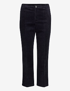 MishaPW Cropped PA - pantalons droits - night sky