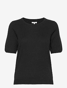 EverlotPW PU - gebreide t-shirts - black