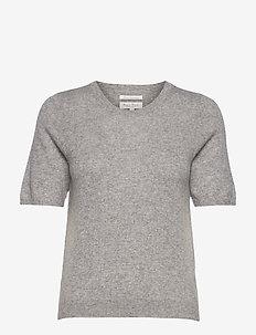 EverlottePW PU - strikkede toppe - grey melange