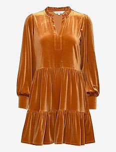 ViggasePW DR - midi kjoler - roasted pecan