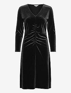 FloraPW DR - robes midi - black