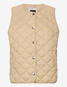 HellenPW OTW - puffer vests - irish cream