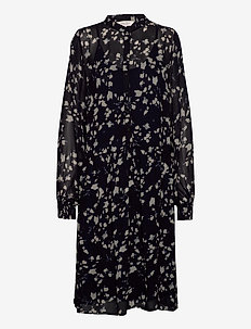 TaniaPW DR - robes midi - abstract print, navy