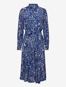 TruePW DR - robes portefeuille - paisley flower, deep ultramari