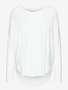 FalaPW TS - pitkähihaiset t-paidat - bright white