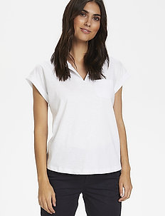 KeditaPW TS - basic t-shirts - bright white