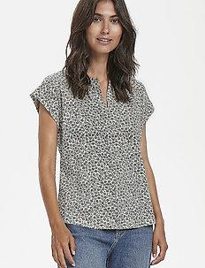 KeditaPW TS - t-shirts basiques - mini print, navy.