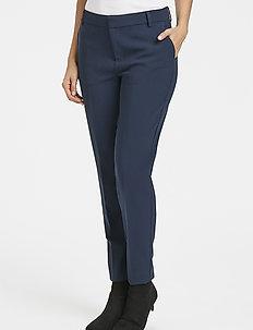 CleaPW PA - pantalons slim fit - navy blazer