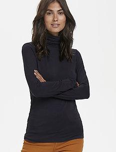 AfinasPW TS - t-shirts basiques - dark navy