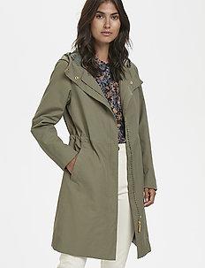 Afie OTW - utility jackets - deep lichen green