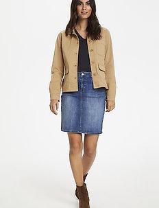Begina JA - utility jackets - tannin