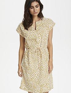 MabelPW DR - courtes robes - dot print, cream tan