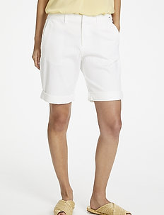 HanijasPW SHO - chino shorts - bright white