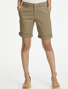 HanijasPW SHO - chino shorts - incense
