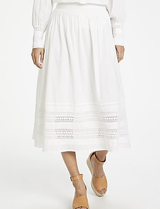 BeninaPW SK - jupes midi - bright white