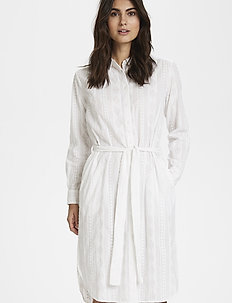 BerenPW DR - shirt dresses - bright white