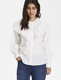 BreePW SH - blouses à manches longues - bright white