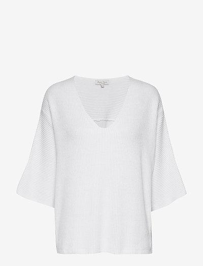 EginaPW PU - sweaters - bright white