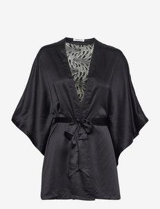 Thelma Kimono - morgenkåber - black