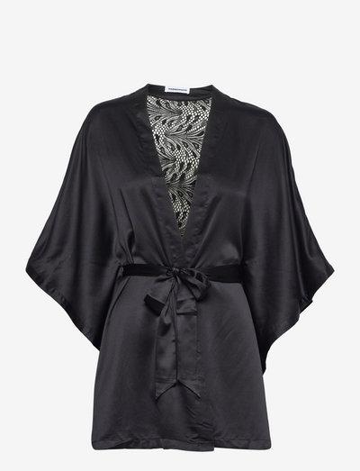 Thelma Kimono - robes - black