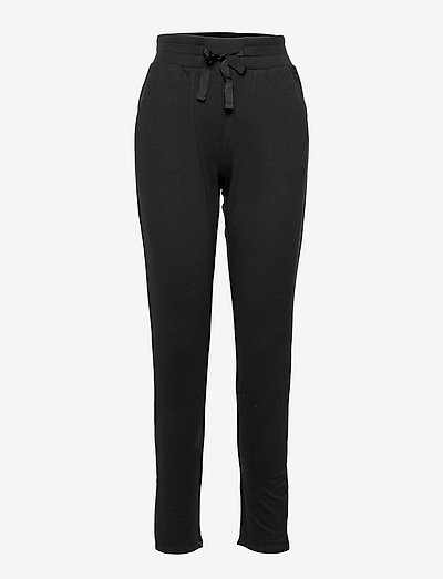 Marta Long Pants - night & loungewear - black