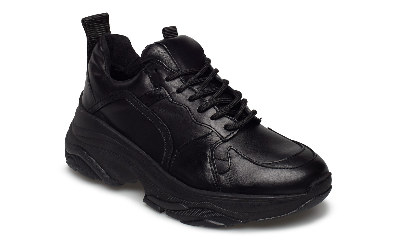 Pavement Mynthe leather - BLACK