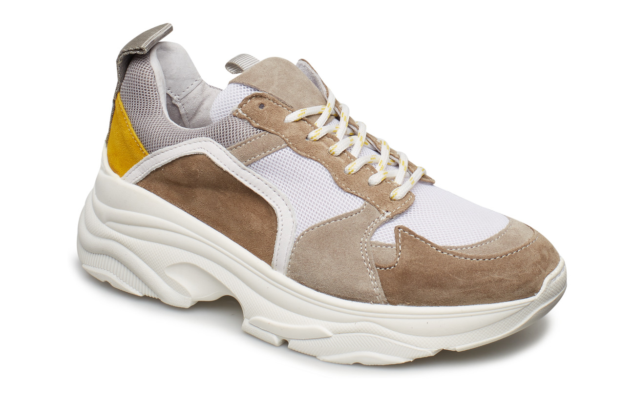 Pavement Mynthe mesh - YELLOW SUEDE