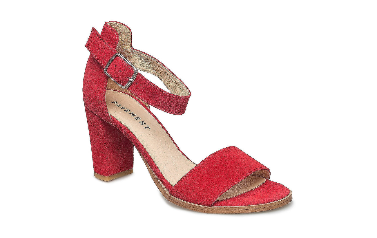 Pavement Silke - RED SUEDE