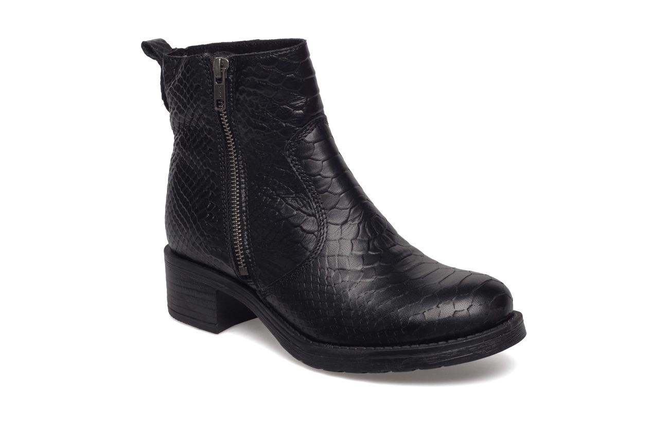 Black Croco Intérieure Supérieure Empeigne Wool Doublure 100 Semelle Laine Cuir Pavement Louise wqHCOW