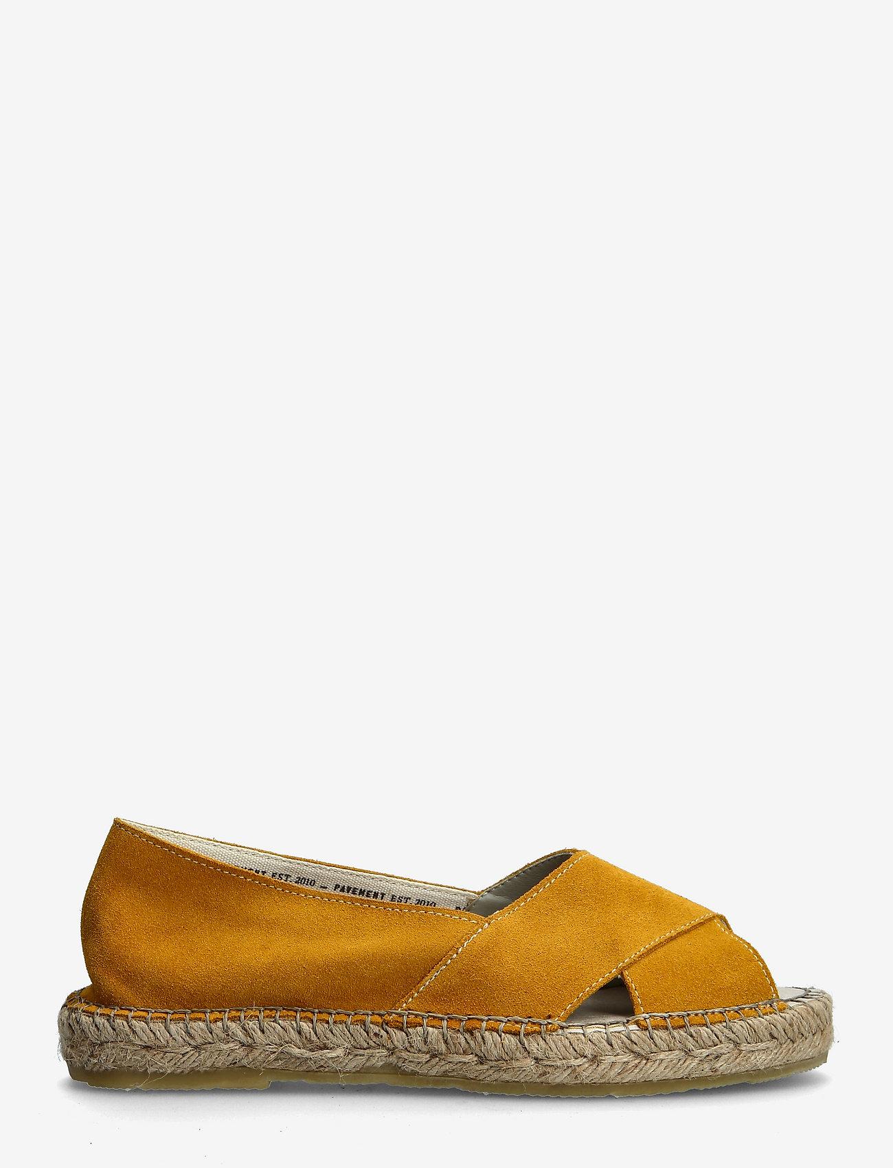 Pavement - Ginger - platta espadriller - yellow suede - 1