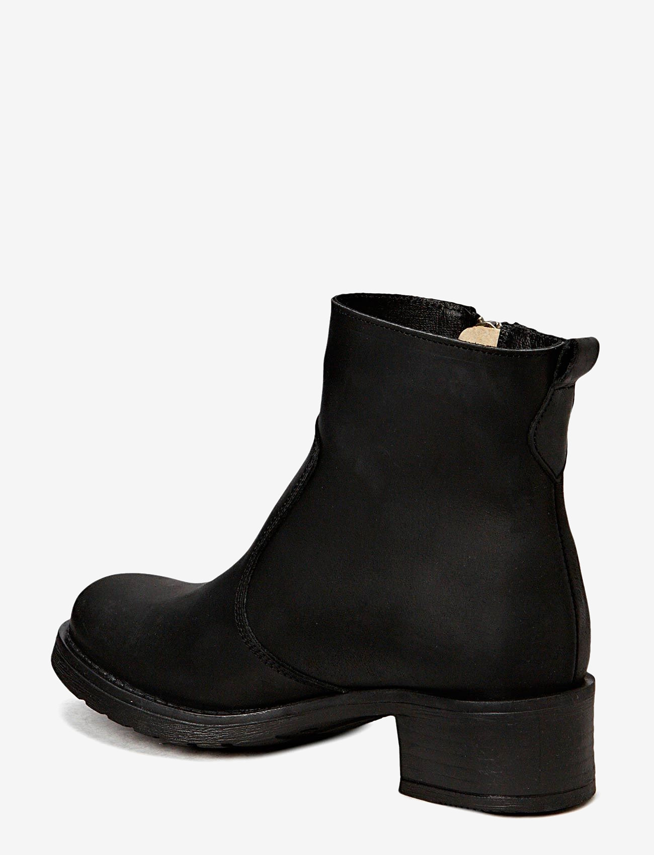 Pavement - Louise wool - flat ankle boots - black wool - 1