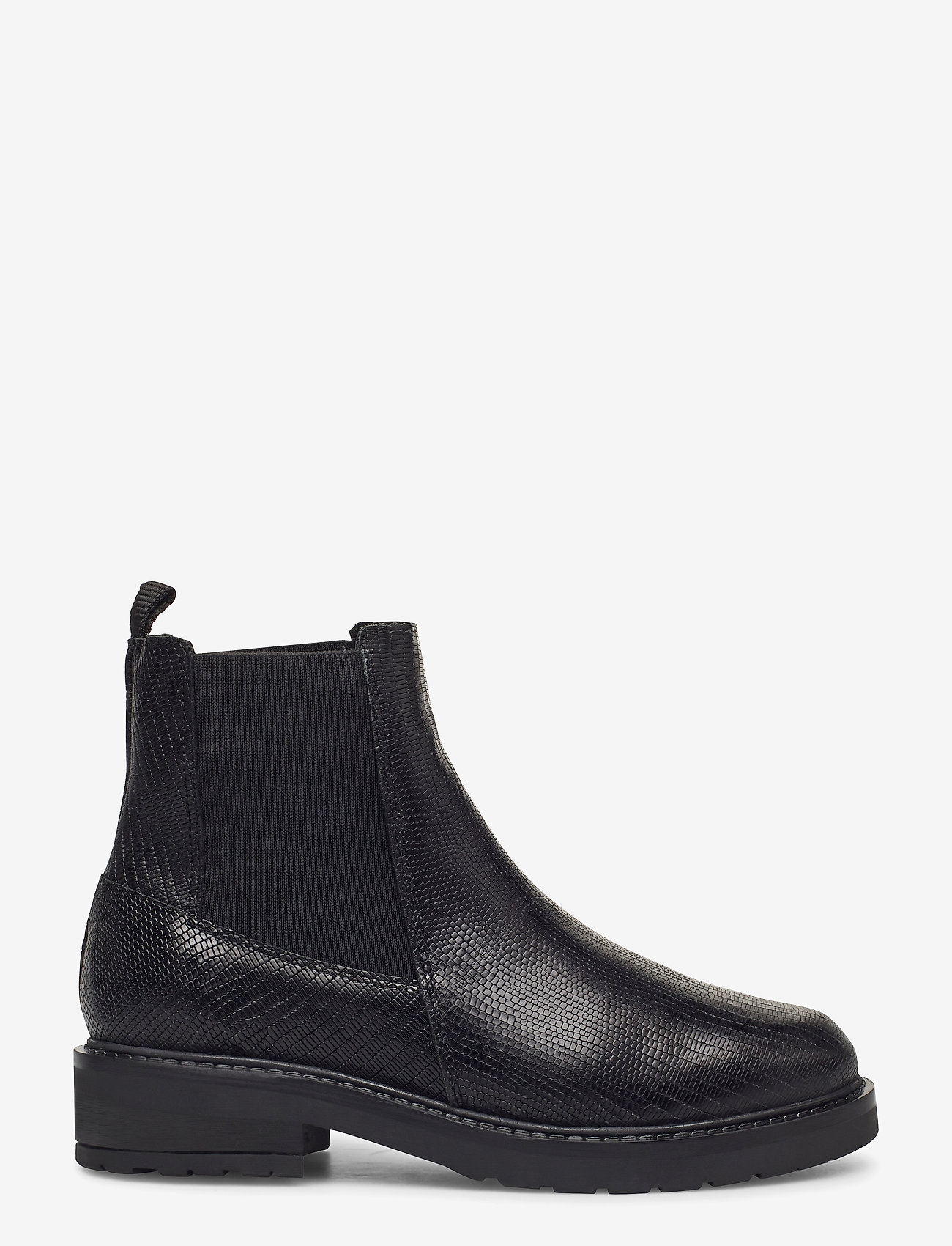 Pavement - Jemma Lizard wool - chelsea boots - black lizard - 1
