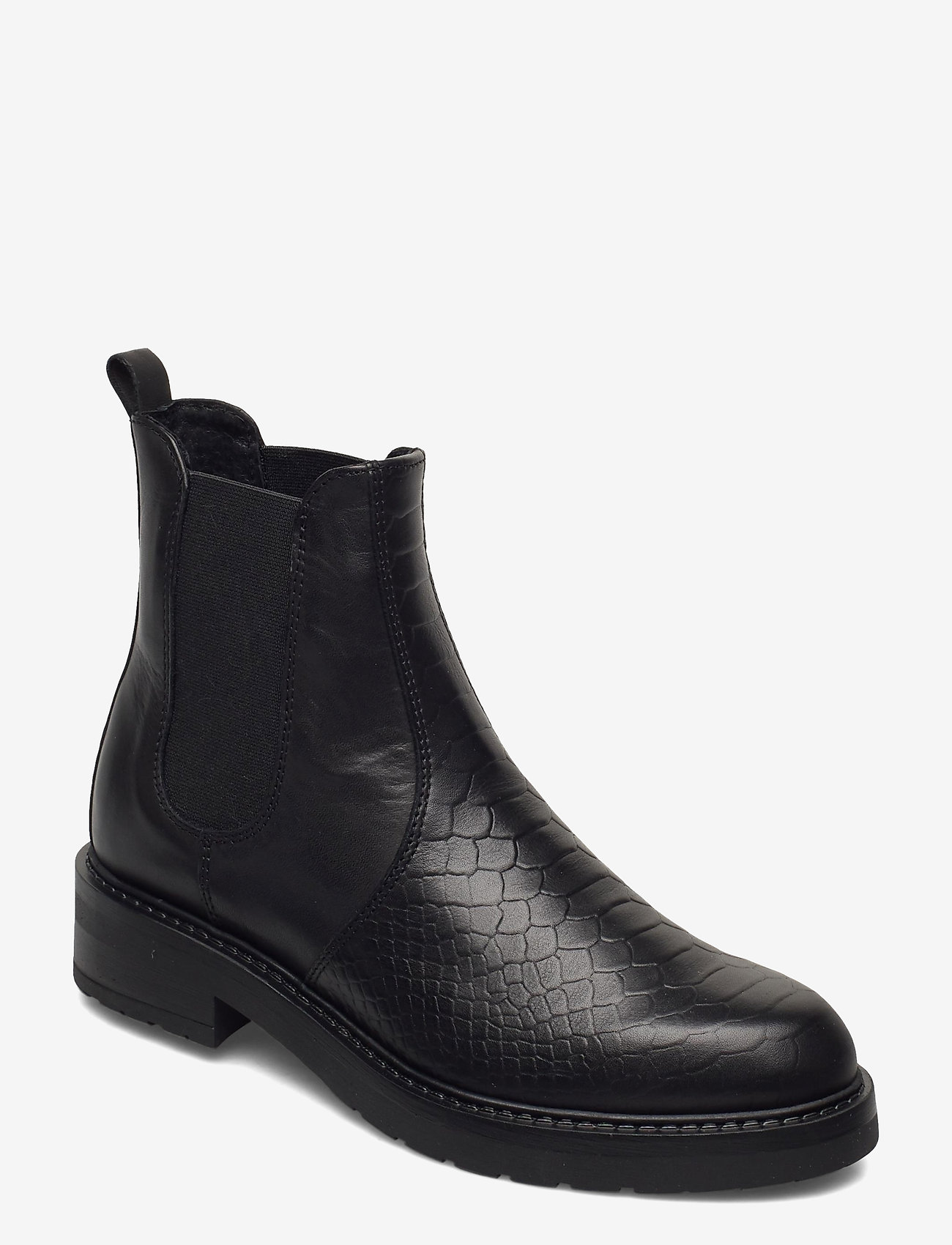 Pavement - Maria two - chelsea boots - black croco - 0