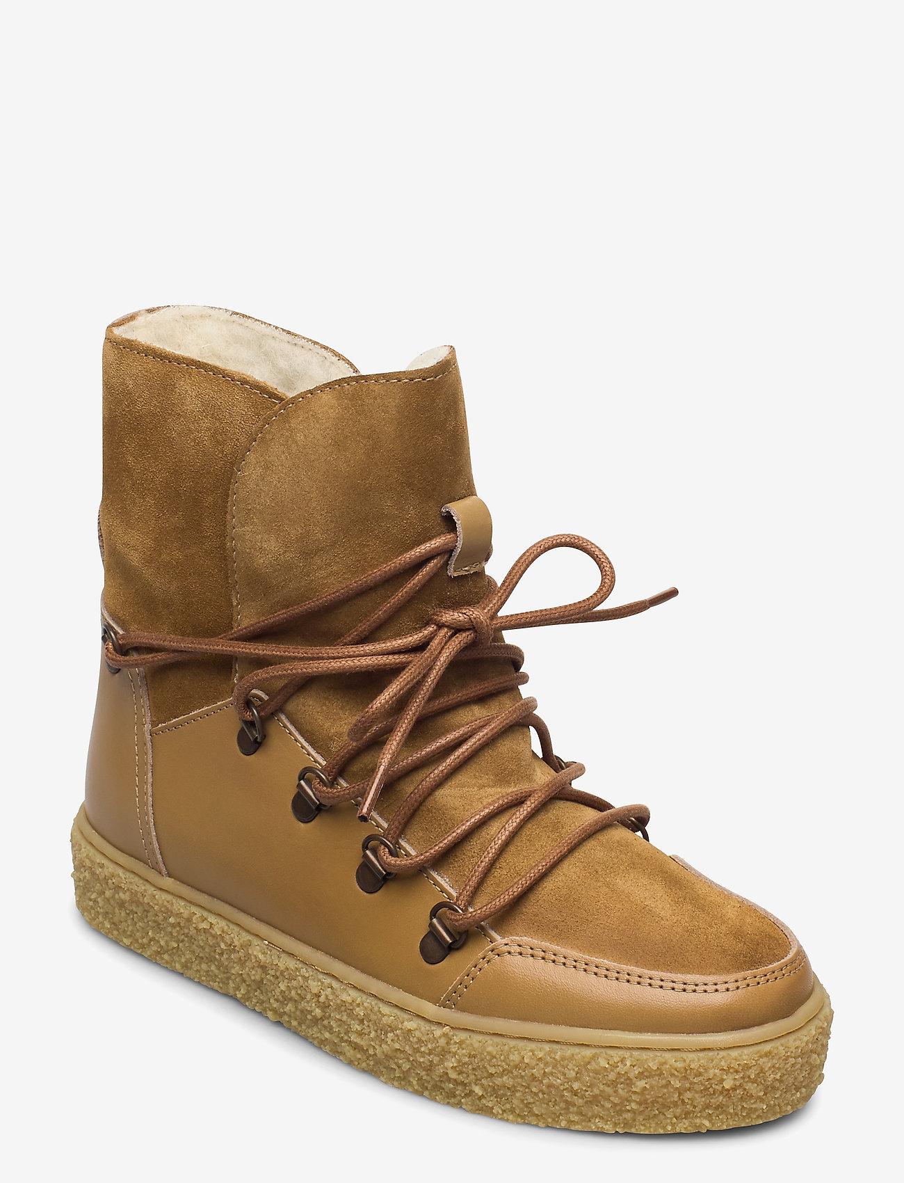 Pavement - Lola wool - flat ankle boots - khaki - 1