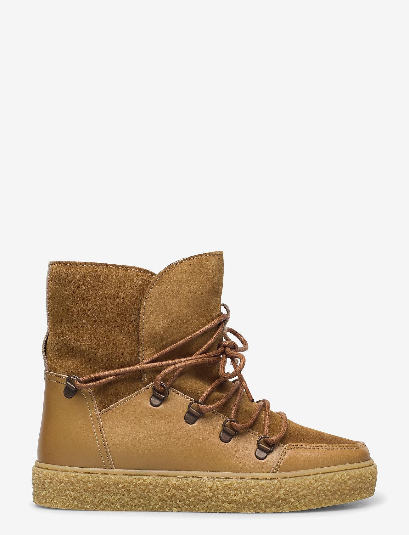 Pavement - Lola wool - flat ankle boots - khaki - 0