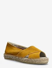 Pavement - Ginger - platta espadriller - yellow suede - 0