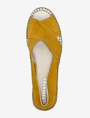 Pavement - Ginger - platta espadriller - yellow suede - 3