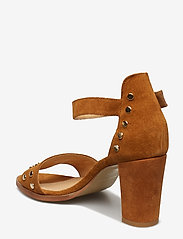 Pavement - Silke Studs - hoge sandalen - tan suede - 2