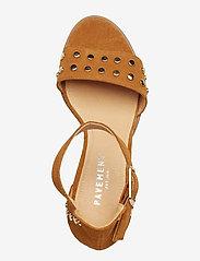 Pavement - Silke Studs - hoge sandalen - tan suede - 3