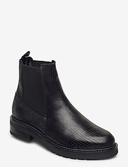 Pavement - Jemma Lizard wool - chelsea boots - black lizard - 0