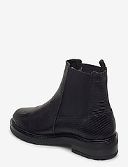 Pavement - Jemma Lizard wool - chelsea boots - black lizard - 2