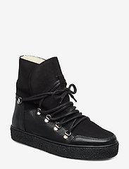 Pavement - Lola wool - flade ankelstøvler - black/black - 1