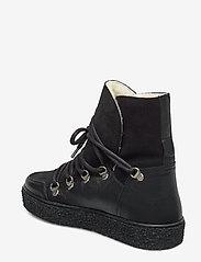 Pavement - Lola wool - flade ankelstøvler - black/black - 2