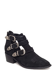 Carina cut - BLACK SUEDE