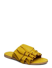 Maggie - YELLOW SUEDE #19