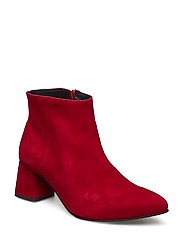 Katy - RED SUEDE