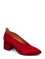Helena - RED SUEDE